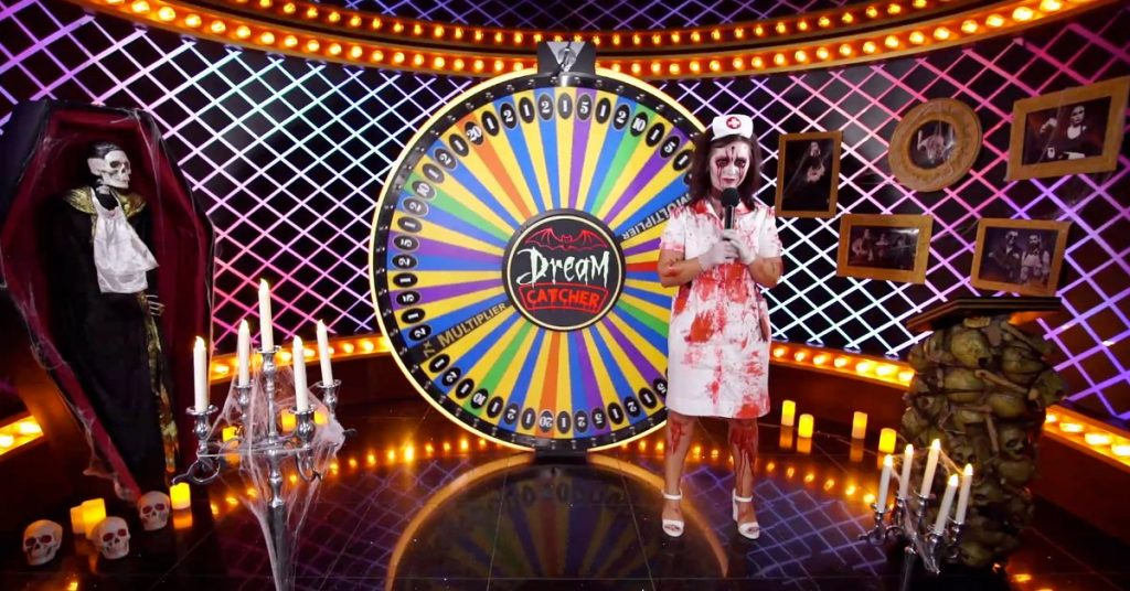 Evolution Game Shows - Spelshower med stora live casino vinster