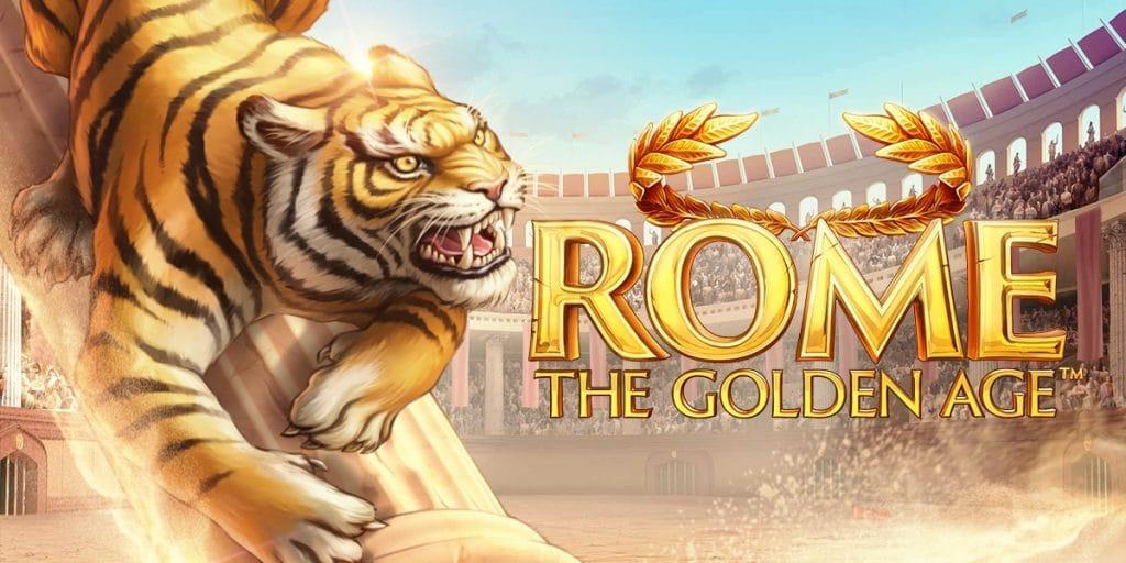 Rome: The Golden Age - Ny slot från NetEnt