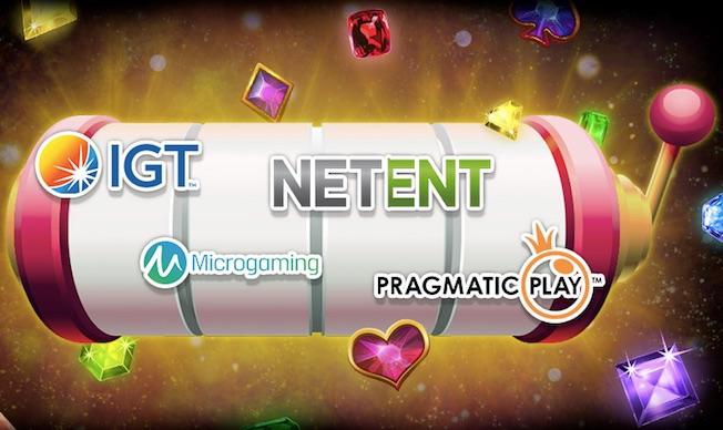 Speltillverkare för casino - Företagen som gör spelen