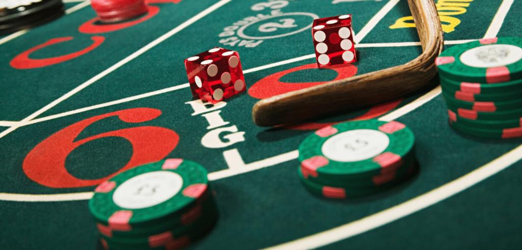 Craps - Spela tärning hos svenska spelsidor