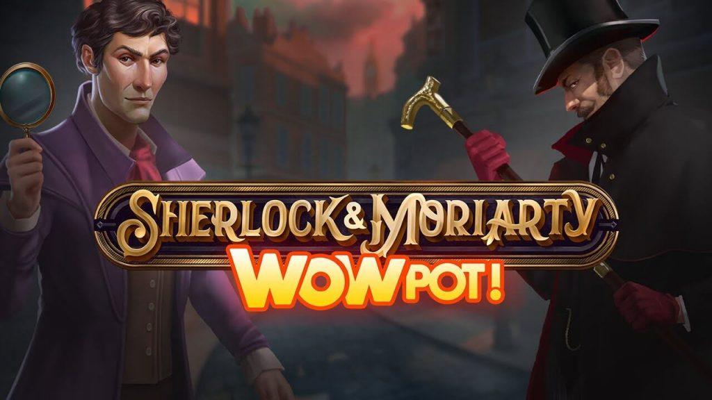 Sherlock & Moriarty WowPot - Ny jackpottslot